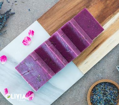 Levendula kecsketejes szappan (90 g)